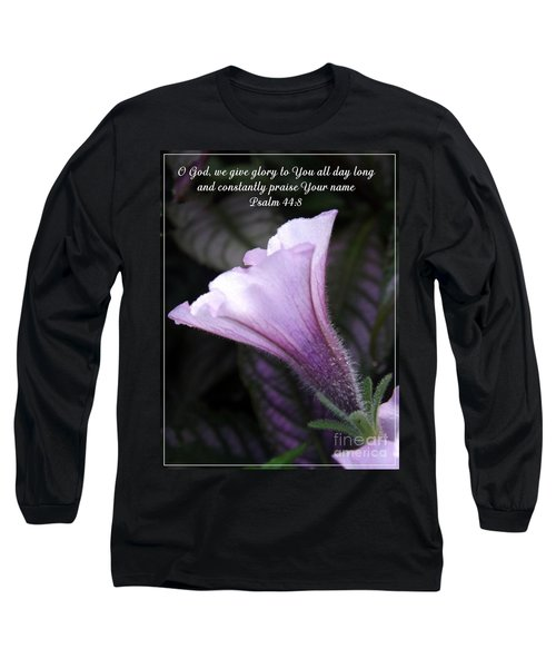 To God Give The Glory Long Sleeve T-Shirt