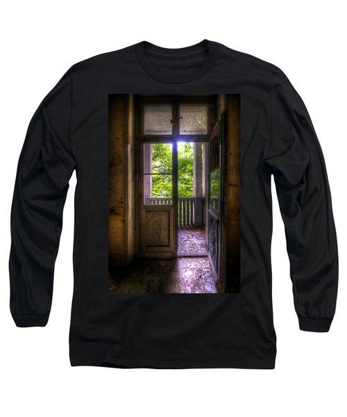 To The Balcony  Long Sleeve T-Shirt