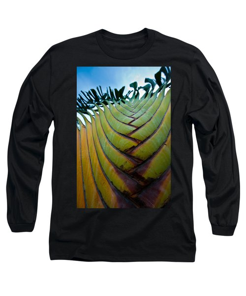 Long Sleeve T-Shirt featuring the photograph To The Sky by Sebastian Musial