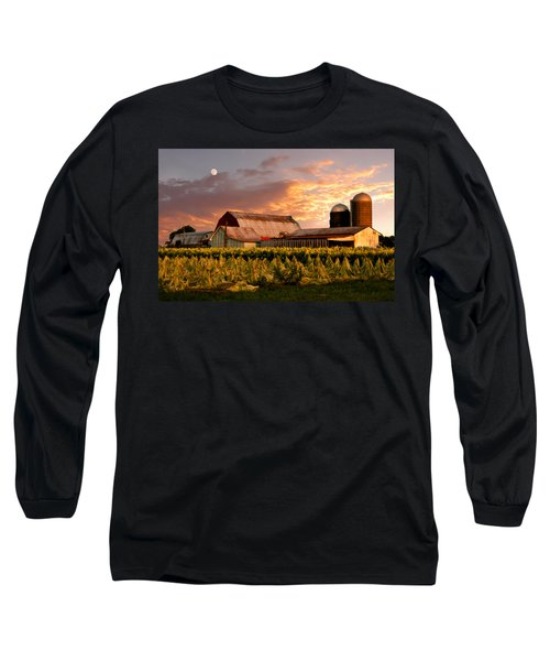 Tobacco Row Long Sleeve T-Shirt by Randall Branham