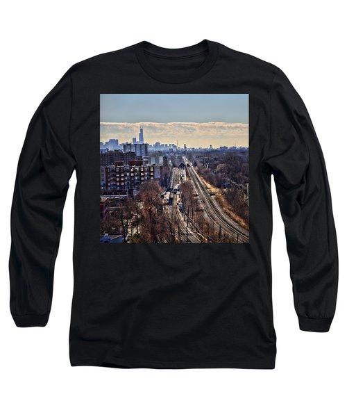 Long Sleeve T-Shirt featuring the photograph Toddlin' Chicago by John Hansen