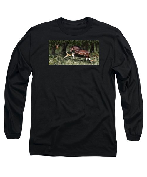 Together Long Sleeve T-Shirt by Kate Black