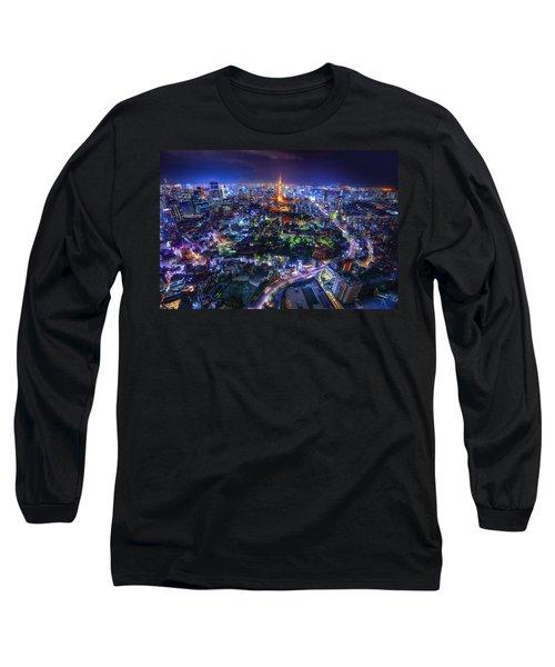 Tokyo Dreamscape Long Sleeve T-Shirt