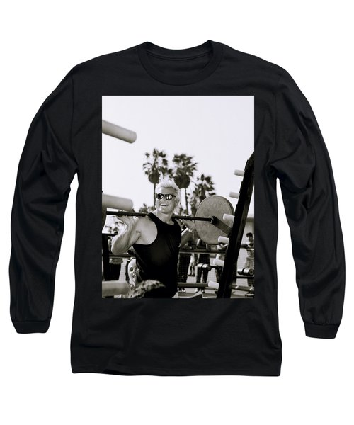 Tom Platz In Los Angeles Long Sleeve T-Shirt