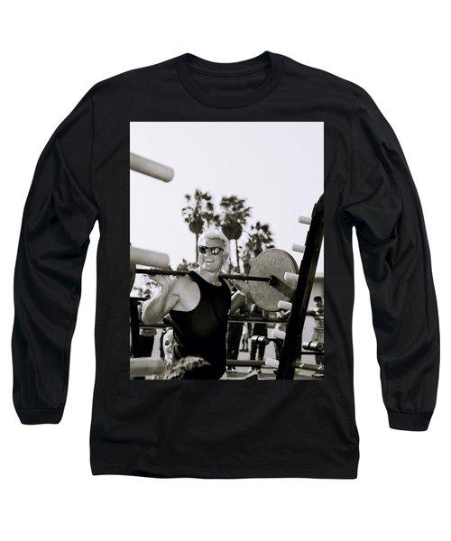 Tom Platz In Los Angeles Long Sleeve T-Shirt