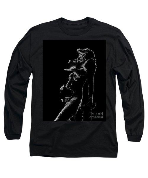 Tone-line Form Long Sleeve T-Shirt