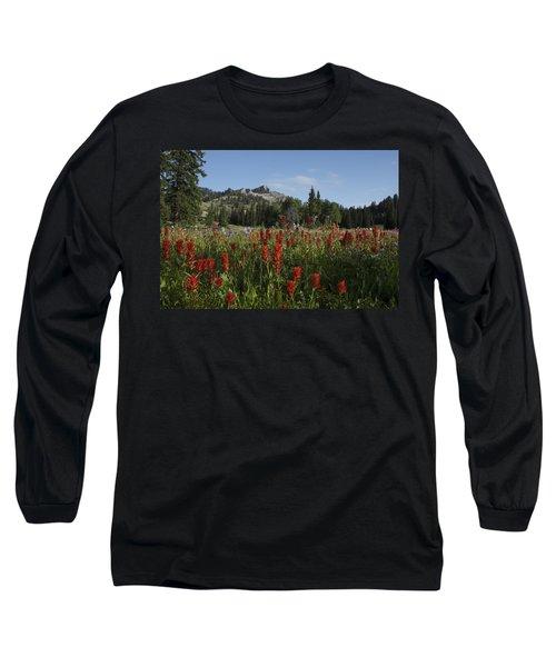 Tony Grove Lake Long Sleeve T-Shirt