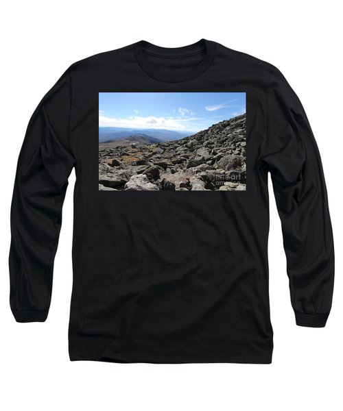 Top View Mt Washington Long Sleeve T-Shirt