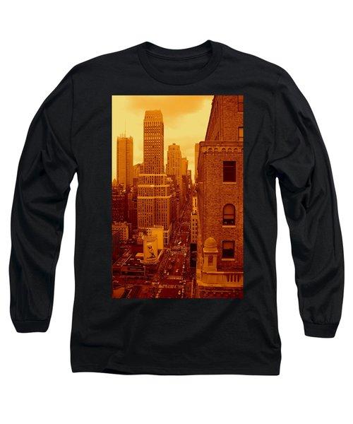 Top Of Manhattan Long Sleeve T-Shirt