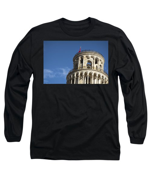 Top Of The Leaning Tower Of Pisa Long Sleeve T-Shirt
