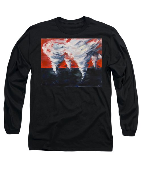 Apocalyptic Dream Long Sleeve T-Shirt by Yulia Kazansky