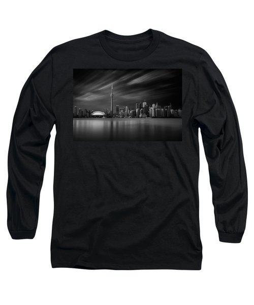 Toronto Skyline - 8 Minutes In Toronto Long Sleeve T-Shirt