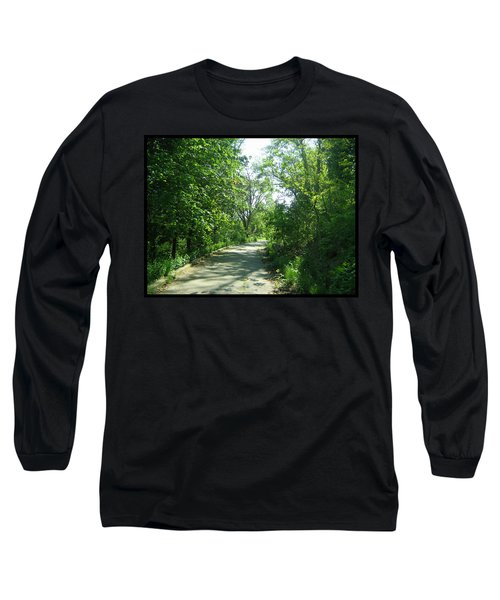 Long Sleeve T-Shirt featuring the photograph Toronto Trails by Shawn Dall