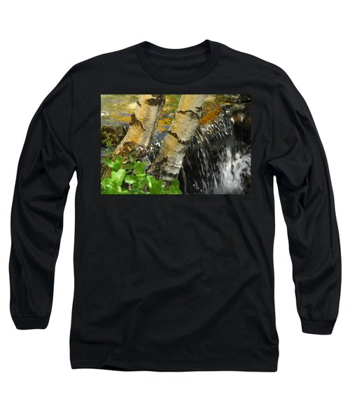 Totally Birching Long Sleeve T-Shirt by Donna Blackhall