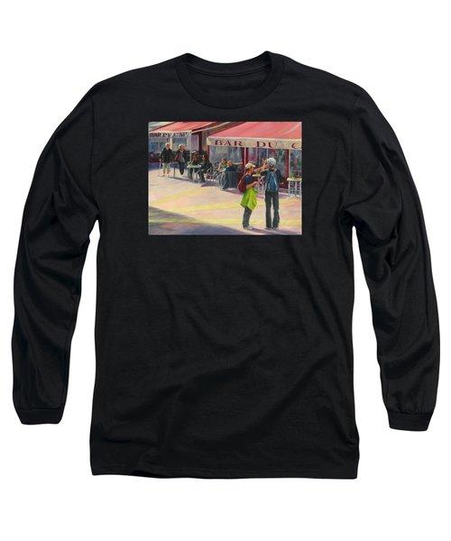 Tourists Long Sleeve T-Shirt by Connie Schaertl