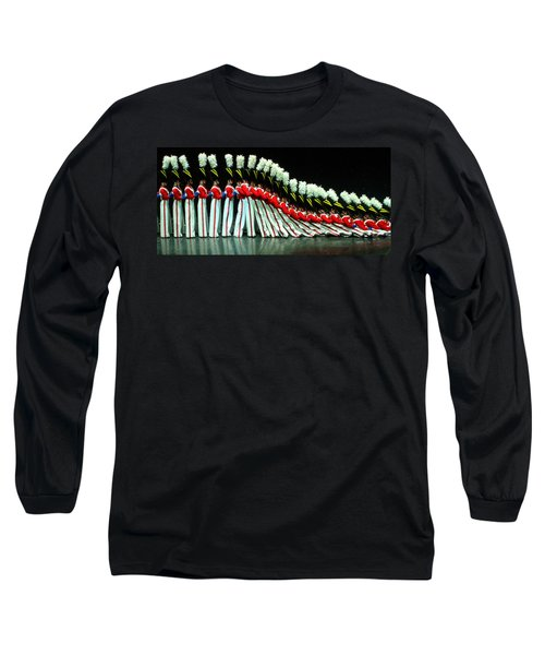 Long Sleeve T-Shirt featuring the photograph Toy Soldiers by Mike Martin