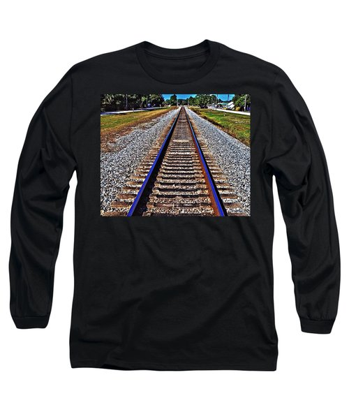 Tracks To Somewhere Long Sleeve T-Shirt