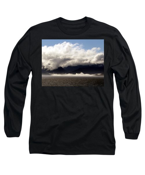 Long Sleeve T-Shirt featuring the photograph Tracy Arm Fjord by Jennifer Wheatley Wolf