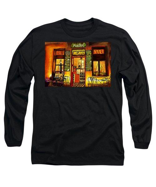Traditional Greek Shop At Skopelos Long Sleeve T-Shirt