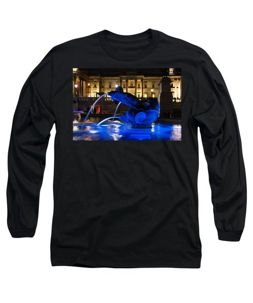 Trafalgar Square At Night Long Sleeve T-Shirt