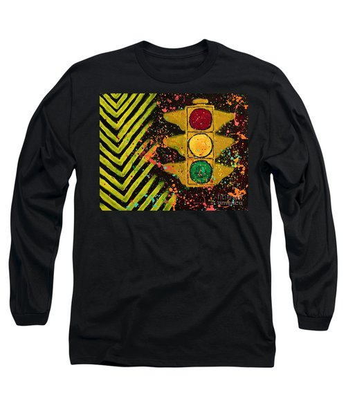 Traffic Jam Cropped Long Sleeve T-Shirt