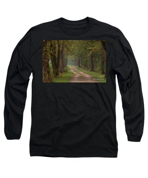 Trail Along The Canal Long Sleeve T-Shirt