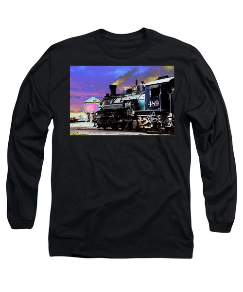 Train 489 Long Sleeve T-Shirt by Steven Bateson
