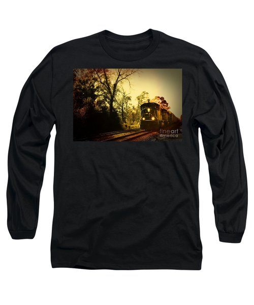 Train Ride Long Sleeve T-Shirt by Janice Spivey
