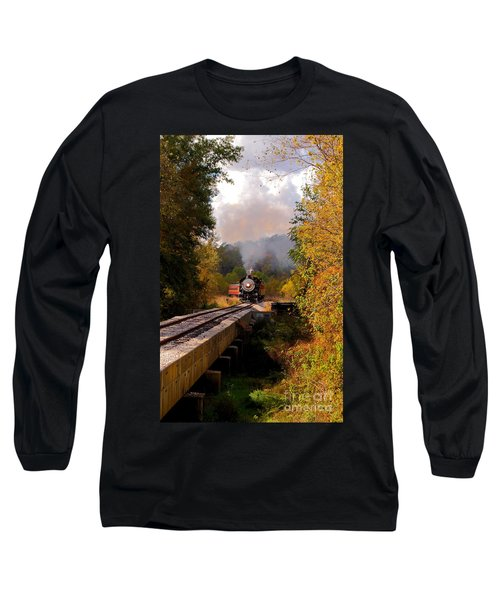 Train Through The Valley Long Sleeve T-Shirt