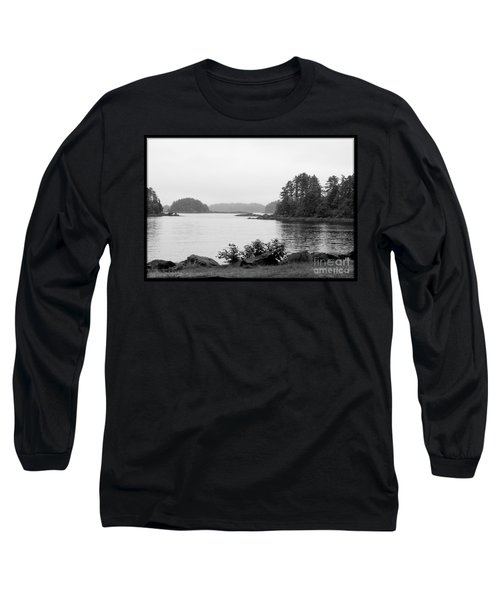 Long Sleeve T-Shirt featuring the photograph Tranquil Harbor by Victoria Harrington