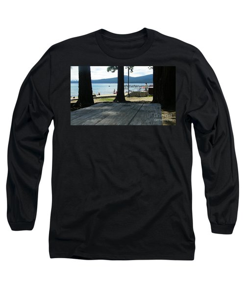 Long Sleeve T-Shirt featuring the photograph Tranquil Moment by Bobbee Rickard