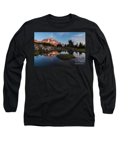 Tranquil Mountain Pool Long Sleeve T-Shirt