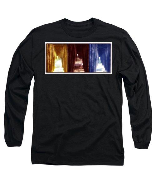 Transforming Waters  Orginal Piece Long Sleeve T-Shirt