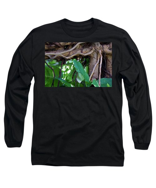 Long Sleeve T-Shirt featuring the photograph Tree Branch by Rafael Salazar