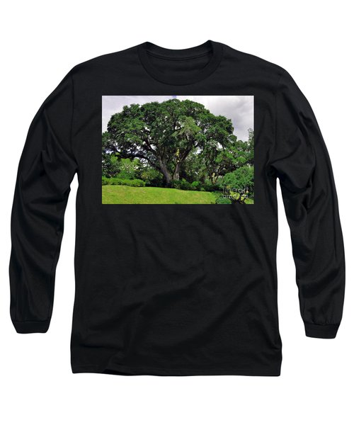 Tree By The River Long Sleeve T-Shirt by Lydia Holly