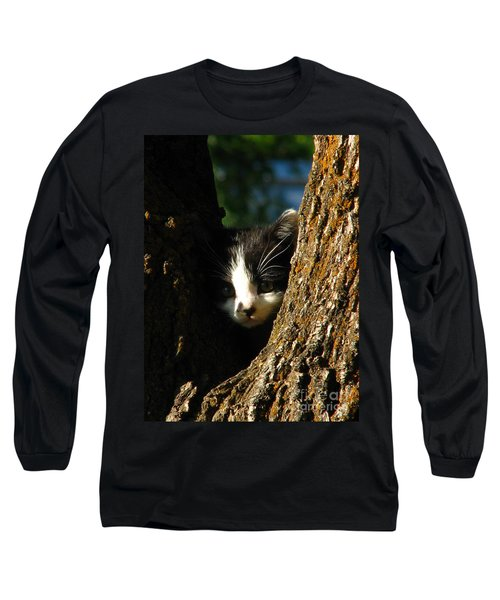 Tree Cat Long Sleeve T-Shirt