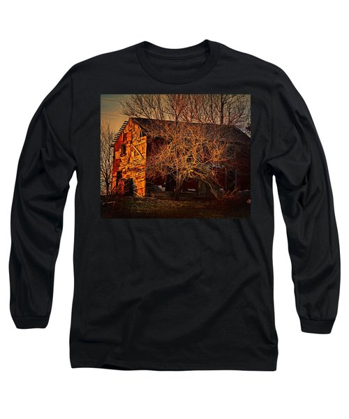 Tree House Long Sleeve T-Shirt by Robert McCubbin