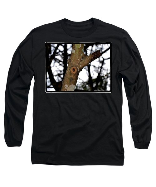 Long Sleeve T-Shirt featuring the photograph Tree Observation by Tara Potts