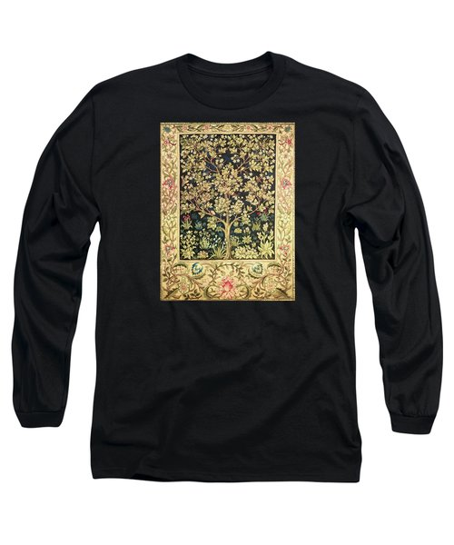 Tree Of Life Long Sleeve T-Shirt by William Morris