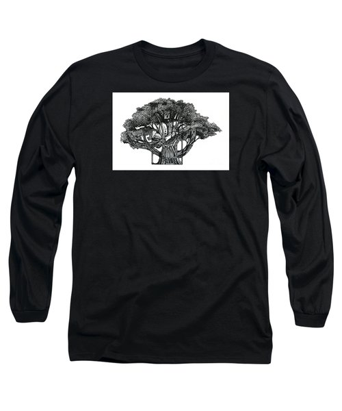 Tree Of Summer Long Sleeve T-Shirt