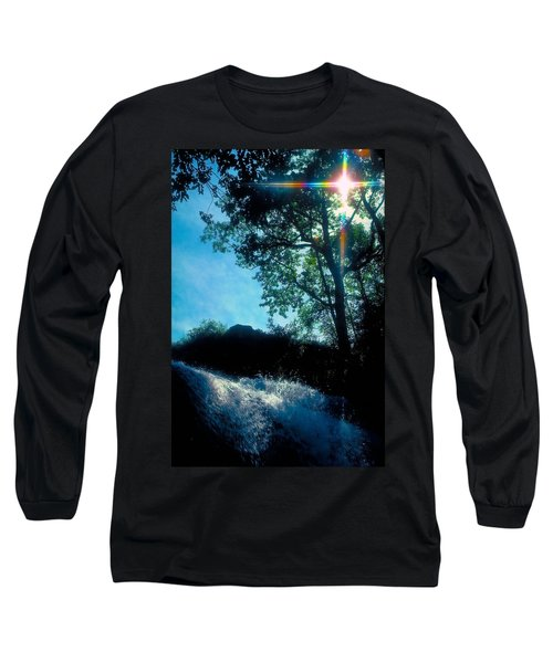 Tree Planted By Streams Of Water Long Sleeve T-Shirt by Marie Hicks