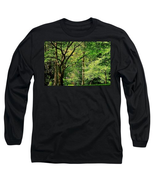 Long Sleeve T-Shirt featuring the photograph Tree Series 3 by Elf Evans