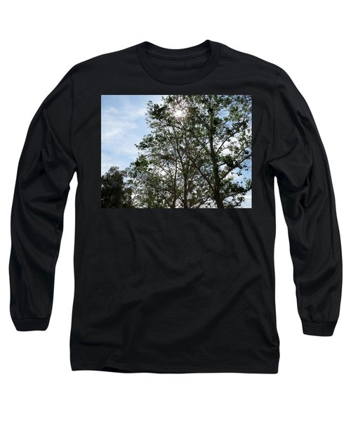 Trees At The Park Long Sleeve T-Shirt by Laurel Powell