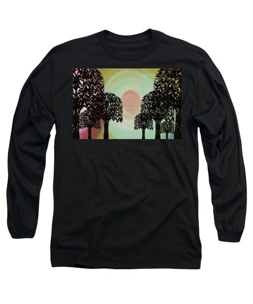 Trees Of Light Long Sleeve T-Shirt