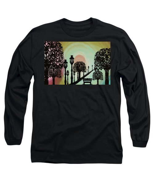 Trees Of Lights Long Sleeve T-Shirt