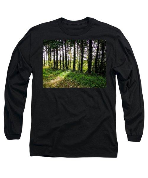 Trees On The Shannon Estuary Long Sleeve T-Shirt