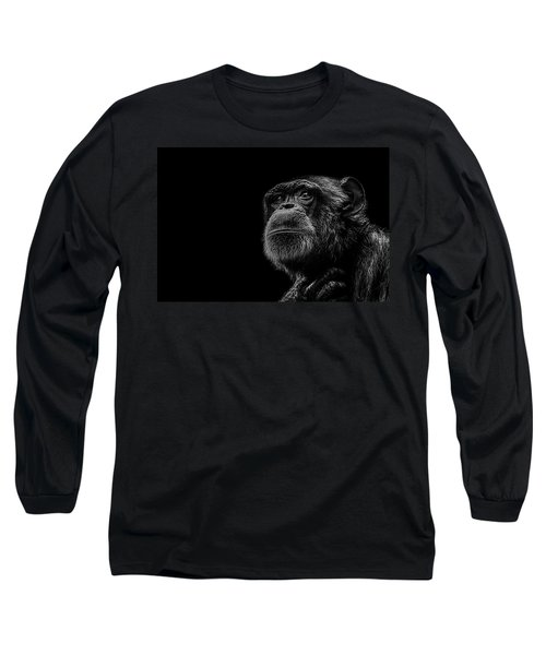 Trepidation Long Sleeve T-Shirt by Paul Neville