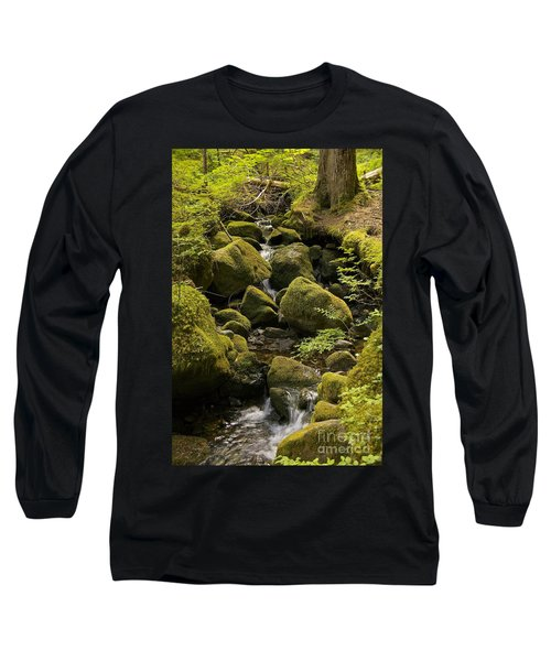 Long Sleeve T-Shirt featuring the photograph Tributary by Sean Griffin