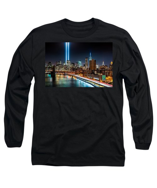 Tribute In Light Memorial Long Sleeve T-Shirt