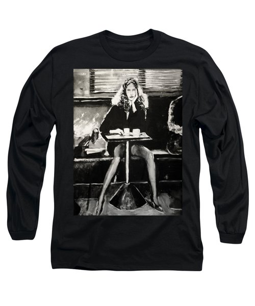 Tribute To Helmut Newton Long Sleeve T-Shirt